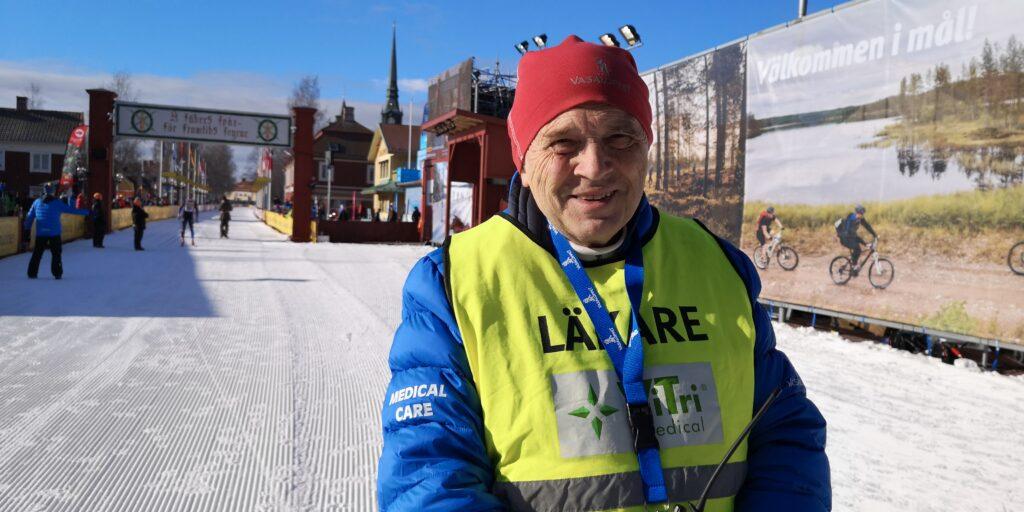 Ulf Hållmarker Tävlingsläkare Vasaloppet